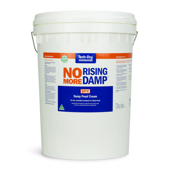 Dpc cream system for large installations tech dry